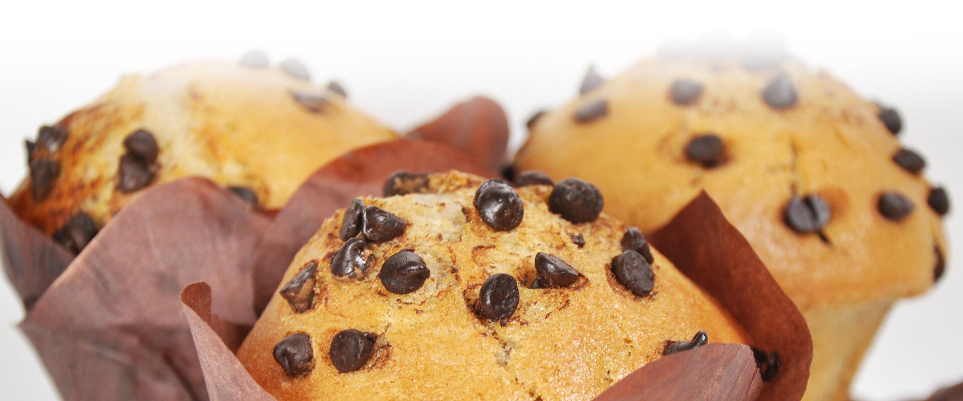 Muffins pépites de chocolat