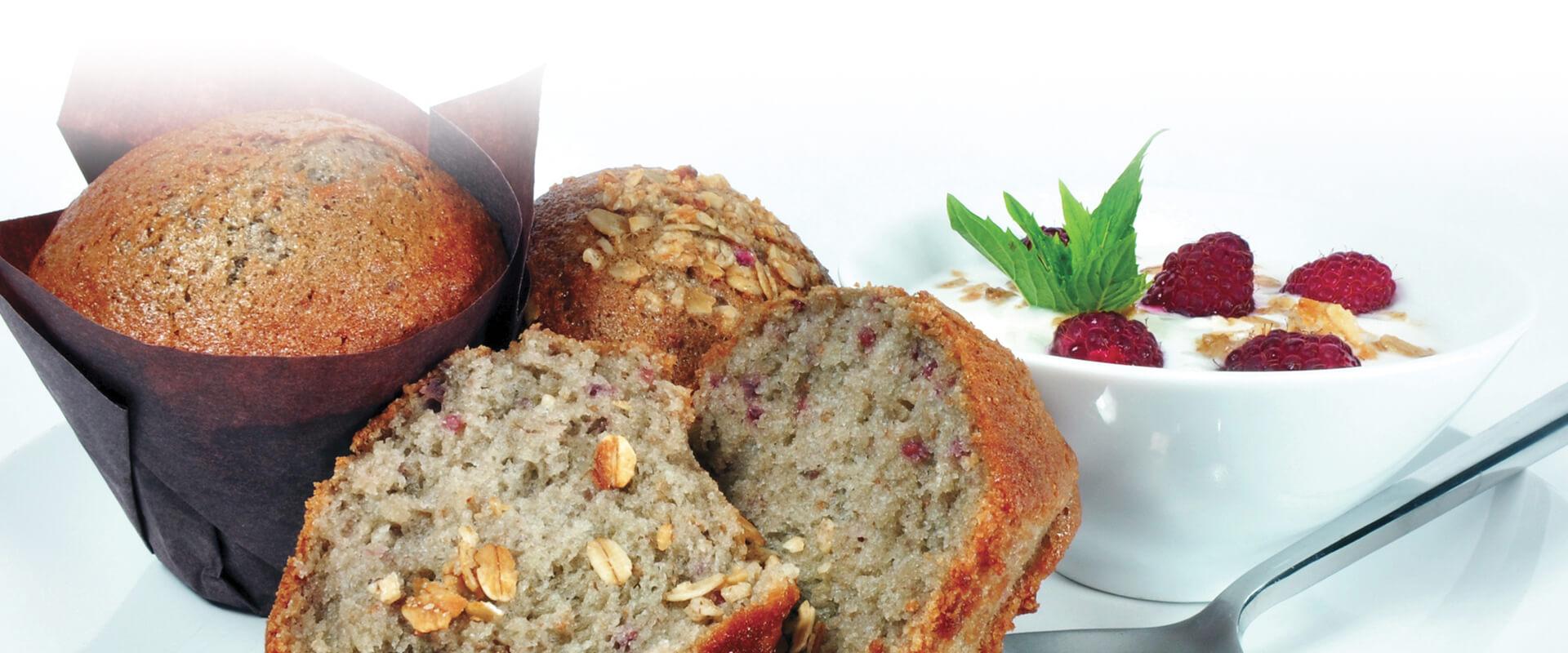 Bannière Pâte à muffins gourmet