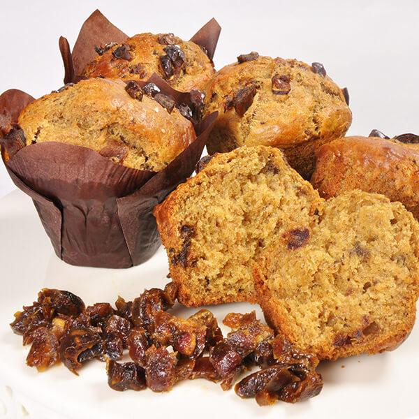 Pâtes à muffins sans sucre ajouté
