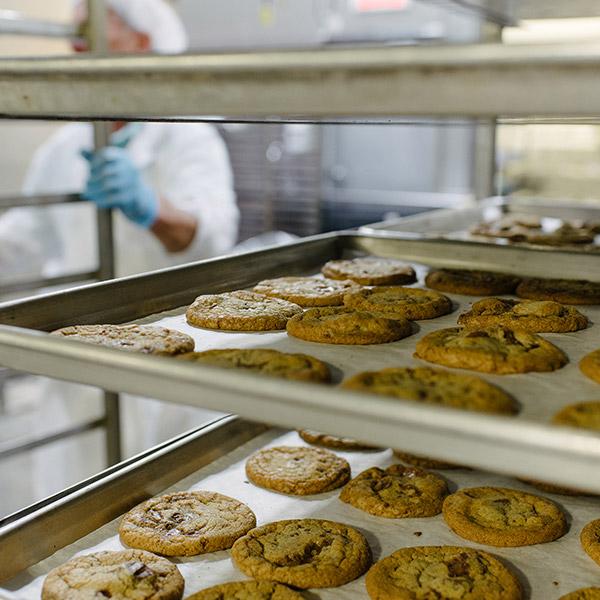 Plateau de biscuits