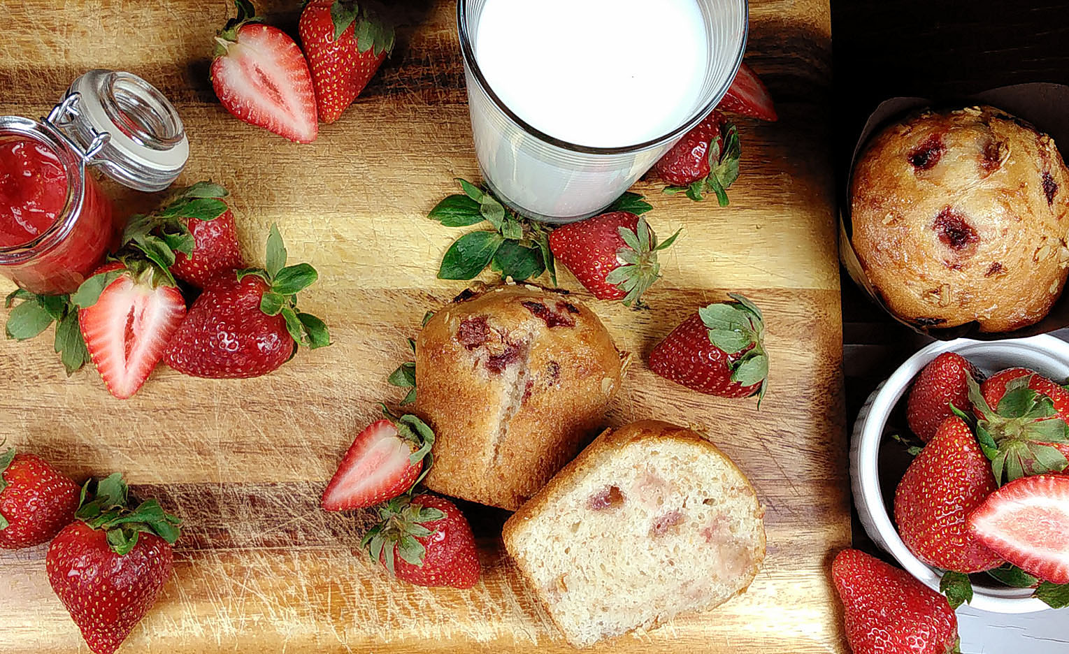 Vive les fraises!