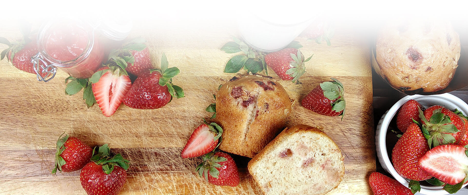 Header accueil 1921 muffin fraises OB Nutrifrance